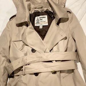 London fog heritage trench coat